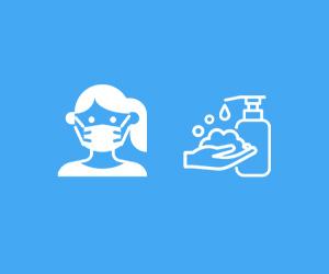 Port du masque et gel hydroalcoolique dans la boutique studioSPORT de Boulogne