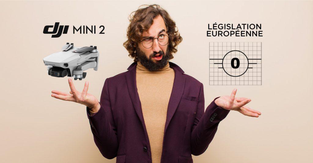 Le DJI Mini 2 et la législation européenne, C0 ?