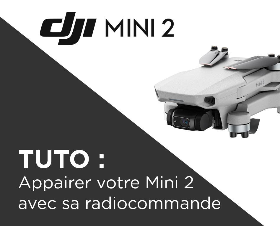 Comment appairer le DJI Mini 2 avec sa radiocommande ?