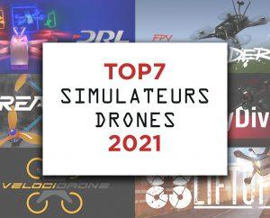 Top 7 simulateurs drones 2021