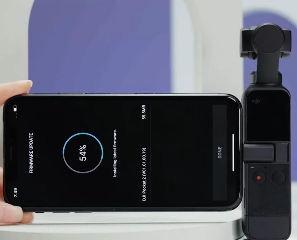 Mise à jour du DJI Pocket 2 : Vidéos HDR, mode Story depuis l'écran…