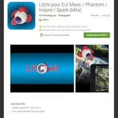 L'application Litchi et le DJI Mavic Air 2 !
