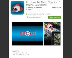 Application Litchi Mavic Air 2