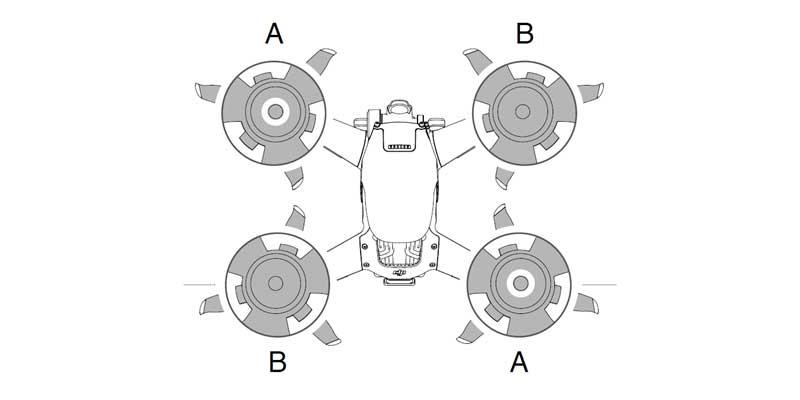 Installer les hélices DJI FPV Combo