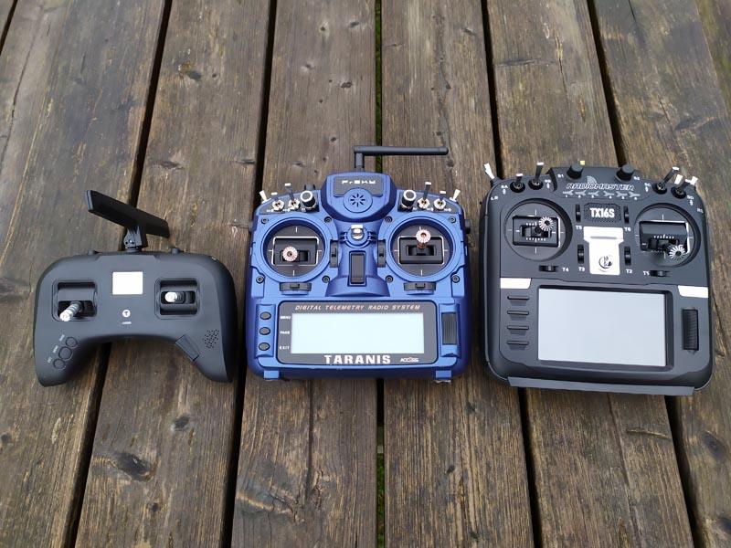 Comparatif radiocommandes drones racer
