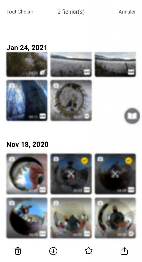 Application Insta360 téléchargement