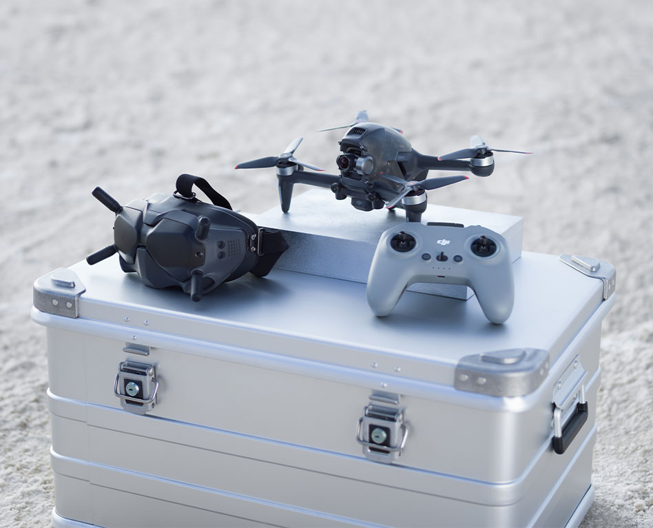 DJI FPV Combo : un drone FPV avec la technologie DJI