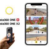 Editer et partager des vidéos via l'application Insta360 One R / One X2
