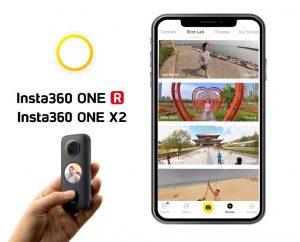 Application Isnta360 édition vidéo