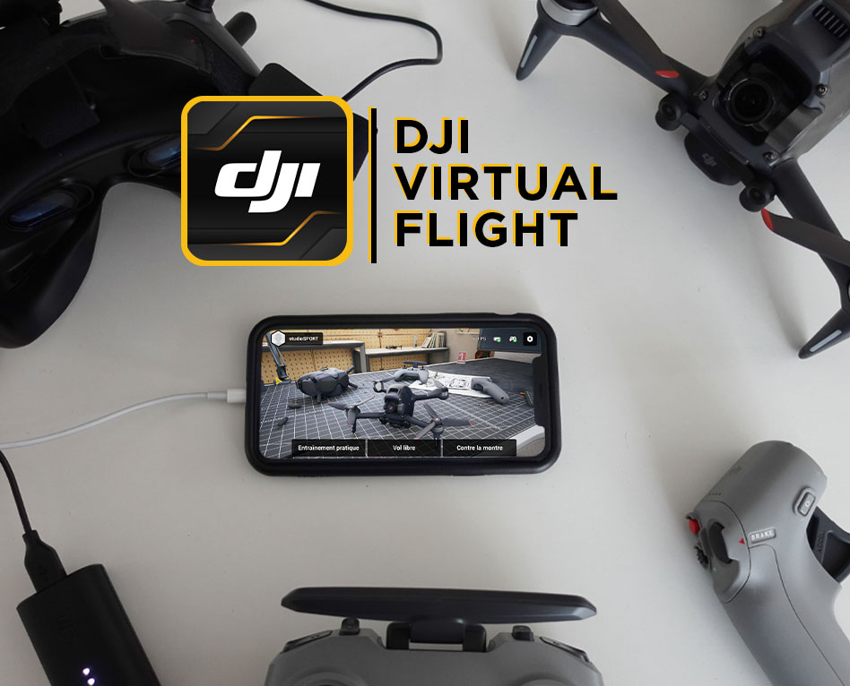 Simulateur DJI Virtual Flight