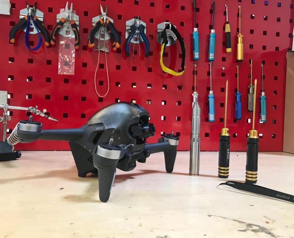 Tuto, réparer son drone DJI FPV Combo