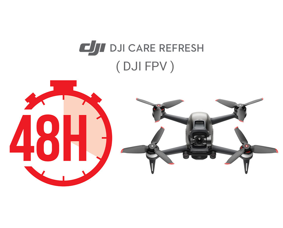 DJI FPV Combo, activer le DJI Care Refresh après 48h