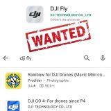 L'application DJI Fly a disparu du Google Play Store ?
