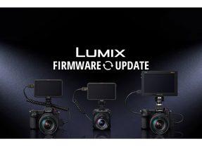 Mise à jour firmwares Panasonic Lumix S1H, S1R, S1, S5 et BGH1