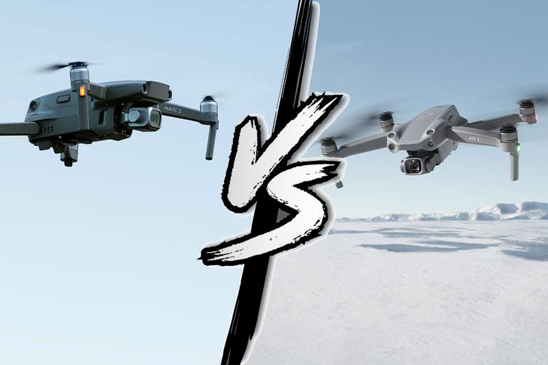 DJI Air 2S vs DJI Mavic 2 Pro