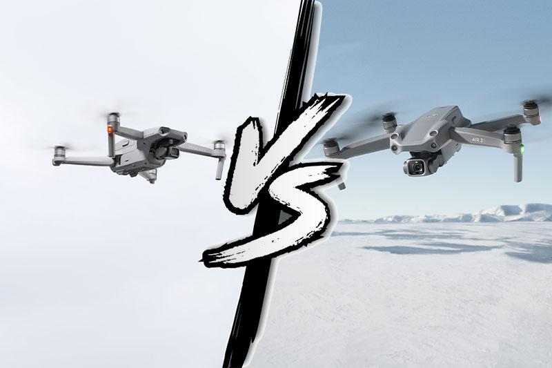 DJI Air 2S vs DJI Mavic Air 2