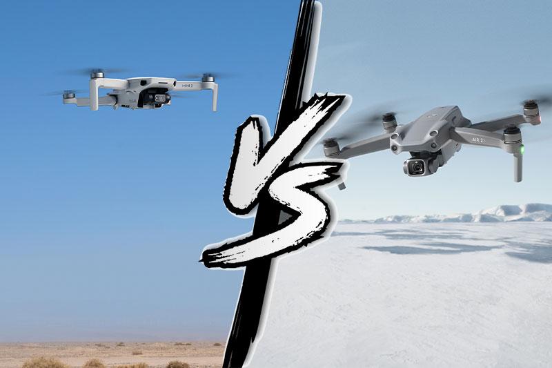 DJI Air 2S vs DJI Mini 2