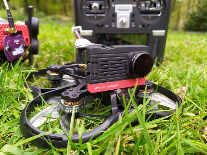 BetaFPV Pavo30 avec caméra Insta360 SMO
