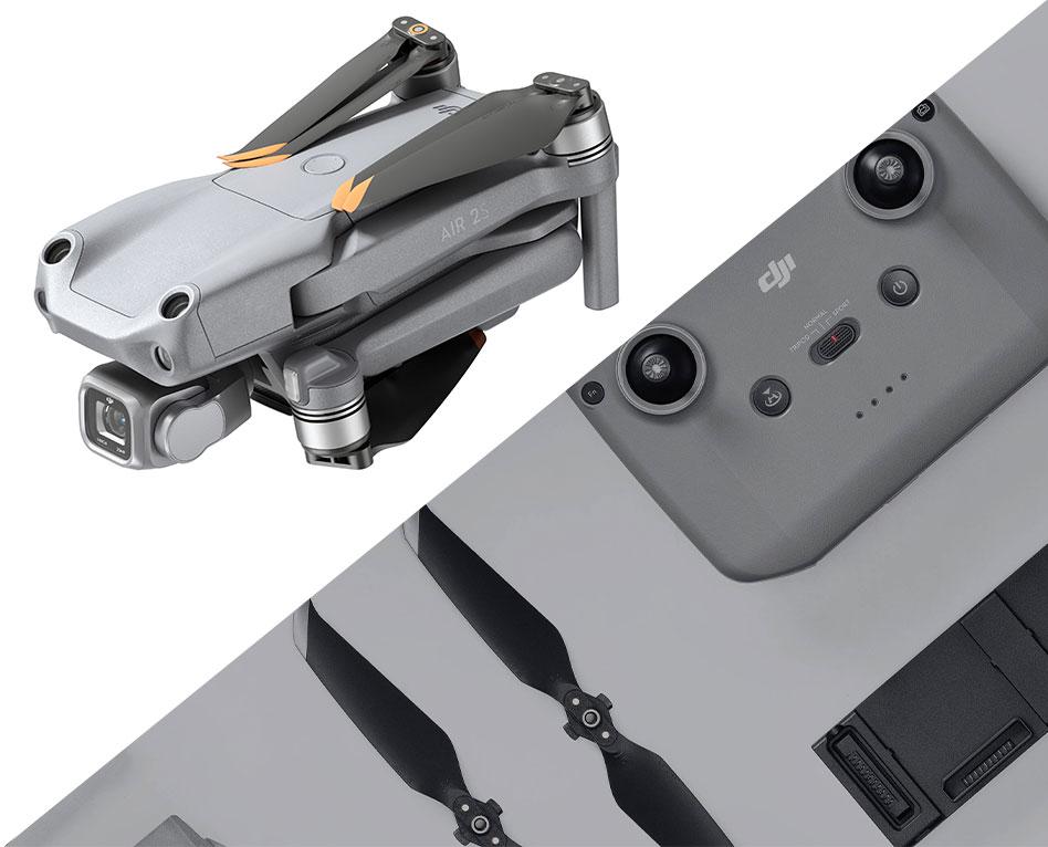 Les accessoires compatibles DJI Mavic Air 2 et DJI Air 2S