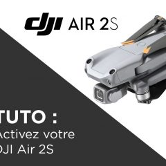 Tuto DJI Air 2S comment activer le drone et le DJI Care Refresh