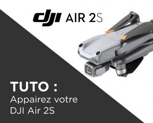 Appairer le DJI Air 2S