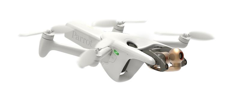 Parrot Anafi AI en vol