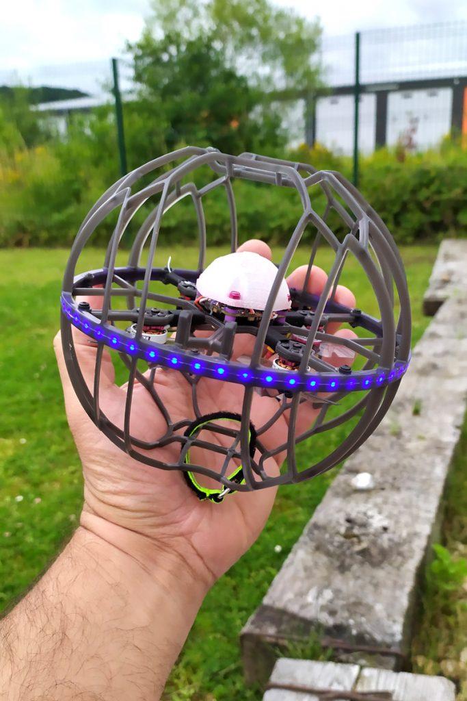 Drone soccer