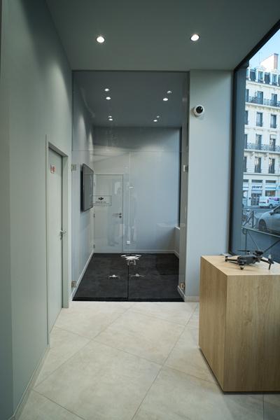 Zone de vol DJI Store Lyon