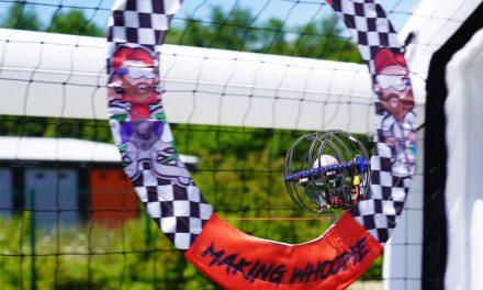 Drone soccer LDARC : le drone racer en mode foot et fun !