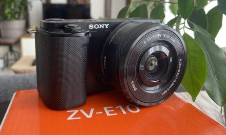 Test du Sony ZV-E10