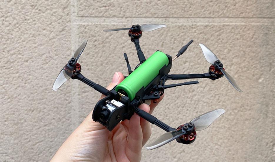 Test du drone HGLRC Rekon 3 nano : une Li-Ion volante !